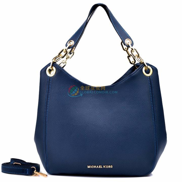 Michael Kors Bedford Large Navy blue Shoulder bag