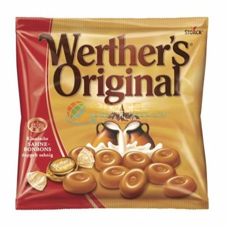 Werther's Original 经典焦糖牛奶太妃糖 120g DeRuiBuy跨境电商